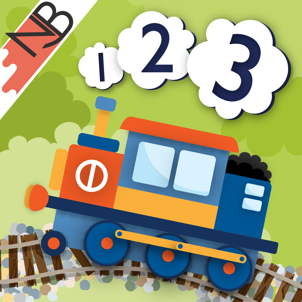 123 Trains (123 Toys Series): COUNTING FUN with interactive TOY TRAINS for your iPad